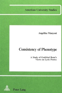 Consistency of Phenotype | Dodax.ch