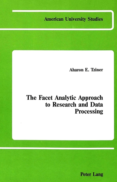 The Facet Analytic Approach to Research and Data Processing | Dodax.de