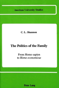 The Politics of the Family | Dodax.de