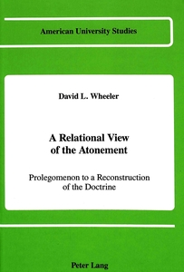 A Relational View of the Atonement | Dodax.de