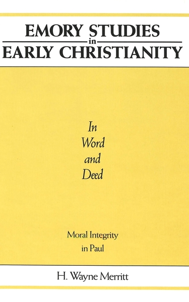 In Word and Deed | Dodax.at