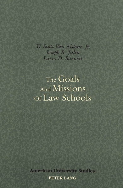 The Goals and Missions of Law Schools | Dodax.at