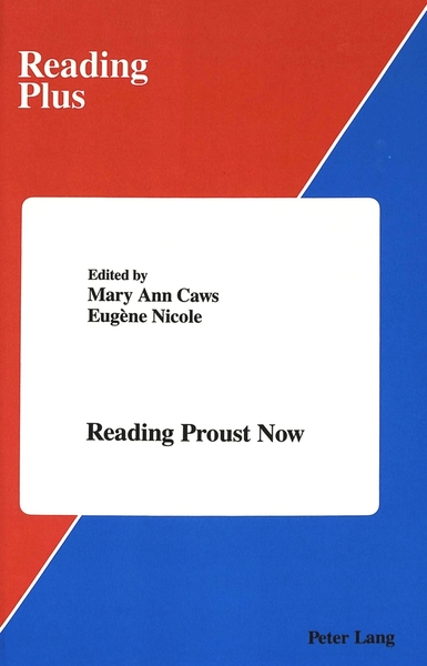Reading Proust Now | Dodax.ch
