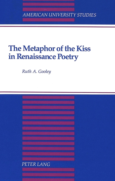 The Metaphor of the Kiss in Renaissance Poetry | Dodax.ch