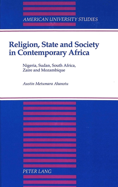 Religion, State and Society in Contemporary Africa | Dodax.ch