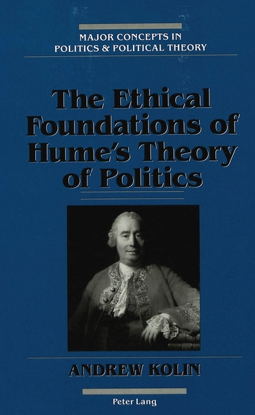 The Ethical Foundations of Hume's Theory of Politics | Dodax.ch