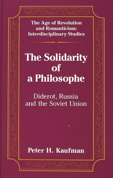 The Solidarity of a Philosophe | Dodax.at