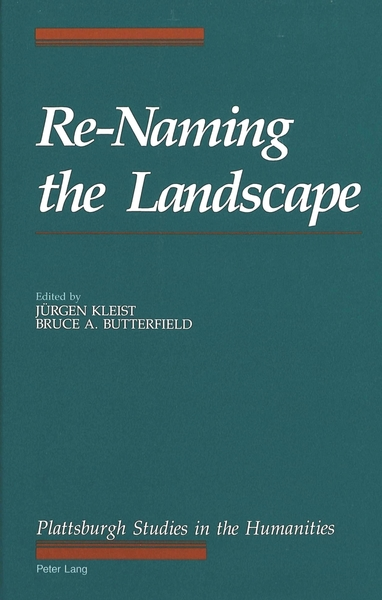 Re-Naming the Landscape | Dodax.ch