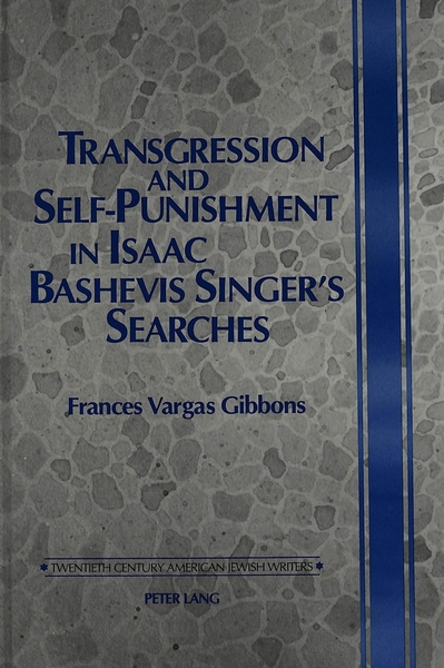 Transgression and Self-Punishment in Isaac Bashevis Singer's Searches | Dodax.de