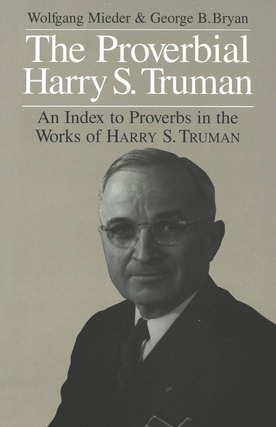 The Proverbial Harry S. Truman | Dodax.at