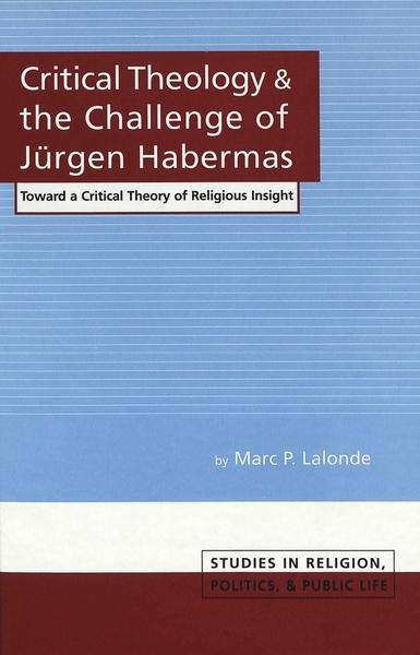 Critical Theology and the Challenge of Jürgen Habermas | Dodax.at