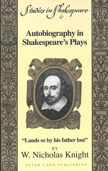 Autobiography in Shakespeare's Plays | Dodax.at