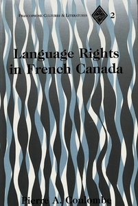 Language Rights in French Canada | Dodax.de
