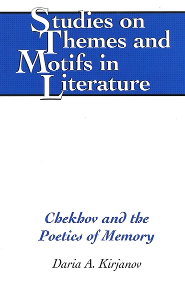 Chekhov and the Poetics of Memory | Dodax.pl