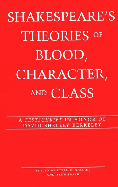 Shakespeare's Theories of Blood, Character, and Class | Dodax.de