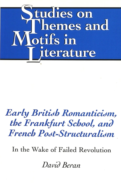 Early British Romanticism, the Frankfurt School, and French Post-Structuralism | Dodax.nl