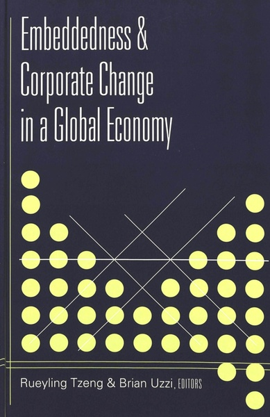 Embeddedness and Corporate Change in a Global Economy   Dodax.de