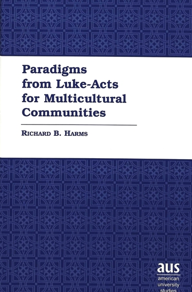 Paradigms from Luke-Acts for Multicultural Communities | Dodax.de