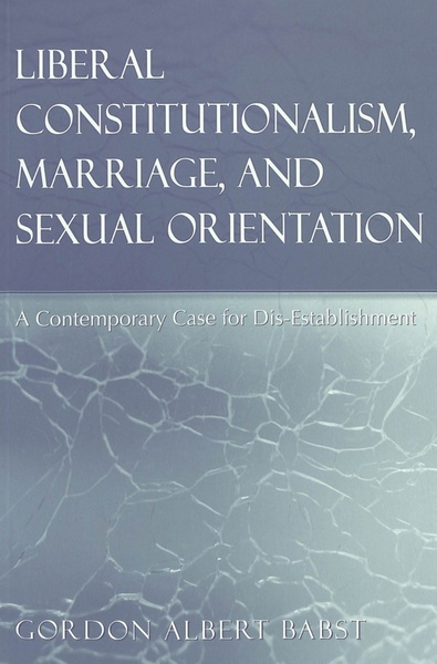 Liberal Constitutionalism, Marriage, and Sexual Orientation | Dodax.pl