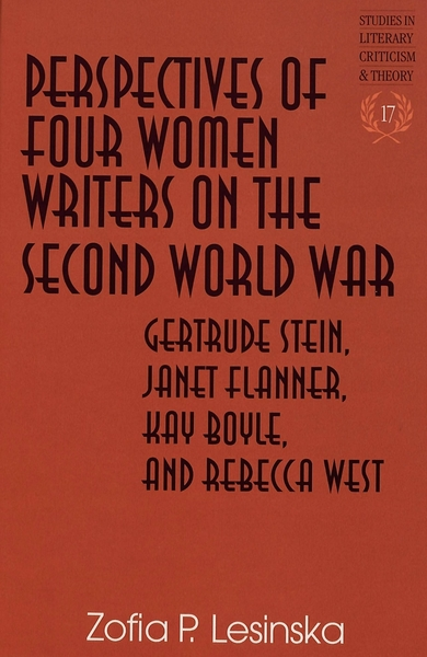 Perspectives of Four Women Writers on the Second World War | Dodax.de