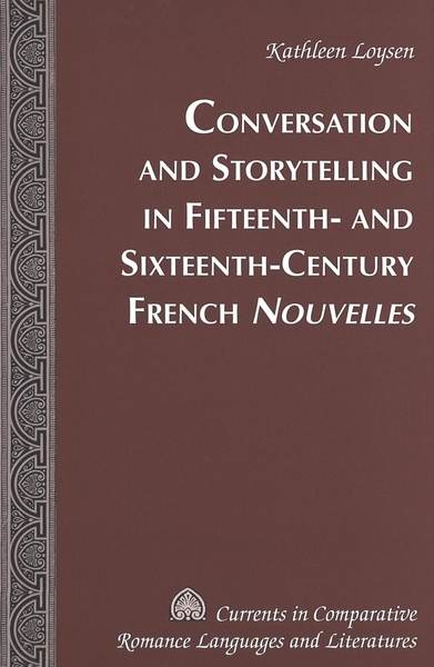 Conversation and Storytelling in Fifteenth- and Sixteenth-Century French «Nouvelles» | Dodax.pl