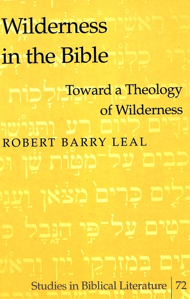Wilderness in the Bible   Dodax.co.uk