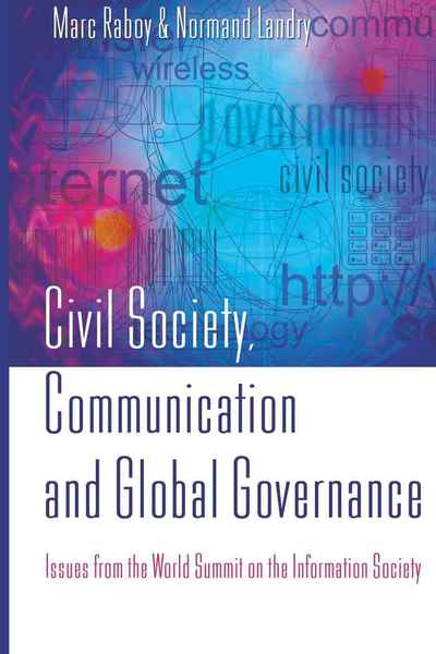 Civil Society, Communication and Global Governance | Dodax.pl