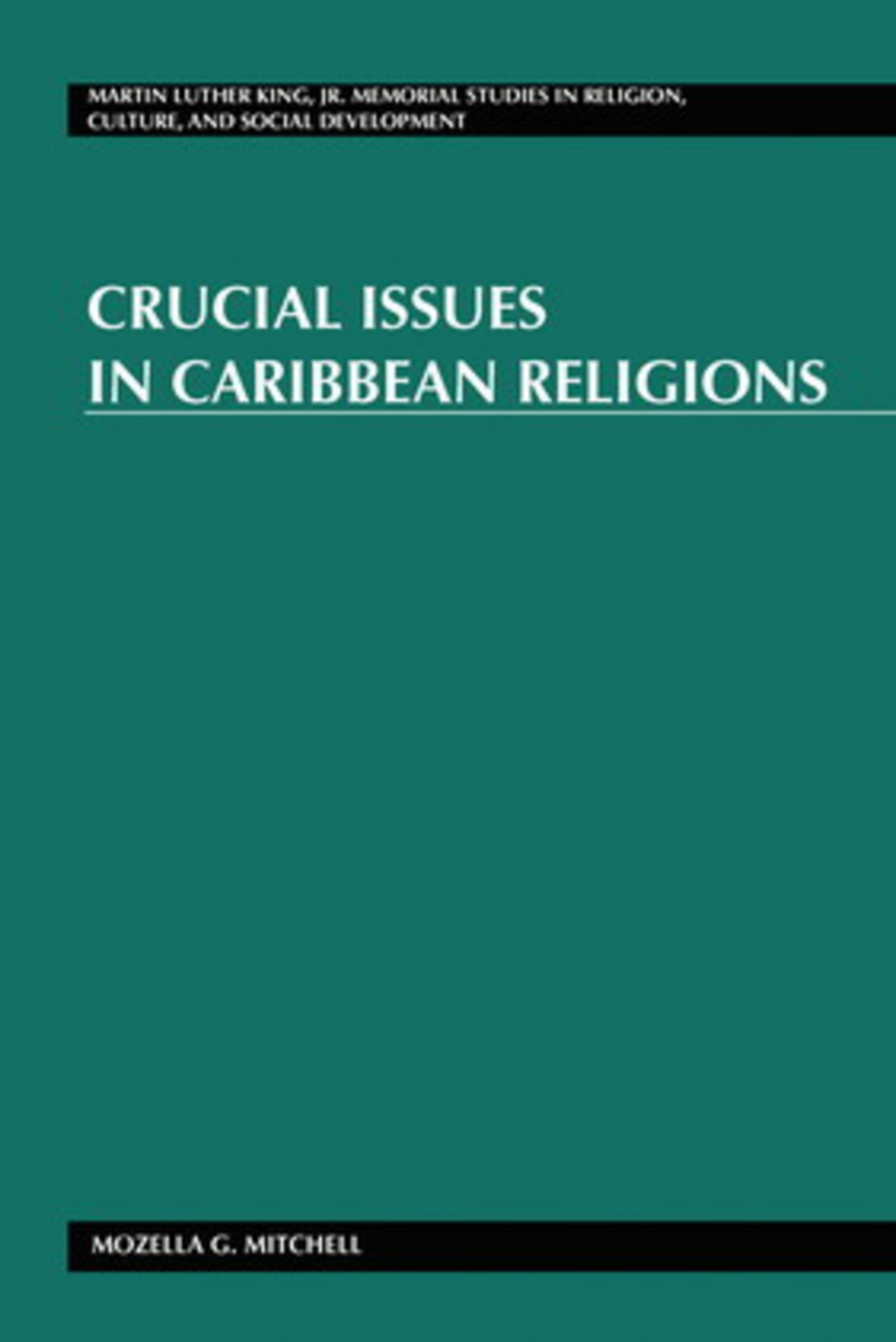Crucial Issues in Caribbean Religions | Dodax.de