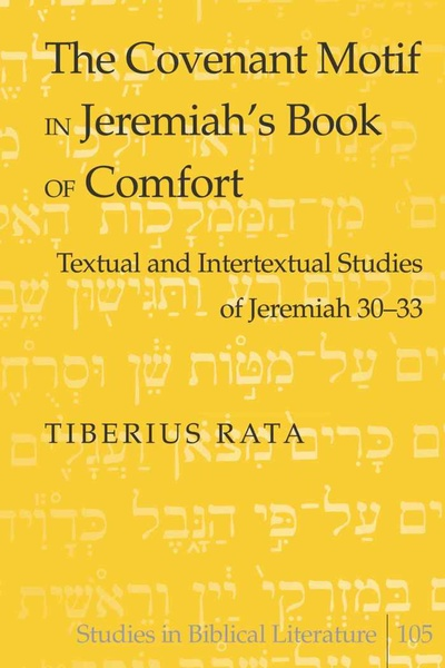 The Covenant Motif in Jeremiah's Book of Comfort | Dodax.pl