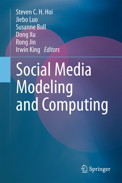 Social Media Modeling and Computing | Dodax.ch