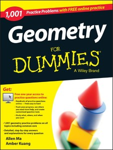 Geometry: 1,001 Practice Problems For Dummies (+ Free Online Practice) | Dodax.pl