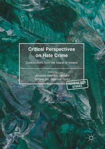 Critical Perspectives on Hate Crime   Dodax.ch