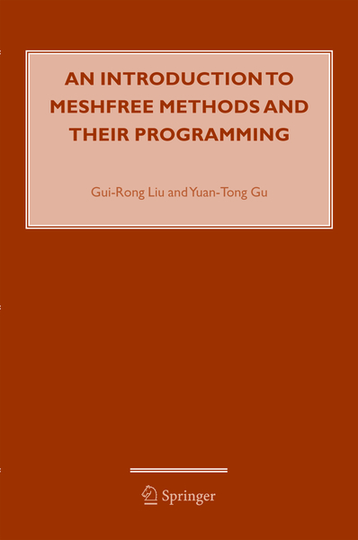 An Introduction to Meshfree Methods and Their Programming | Dodax.co.uk