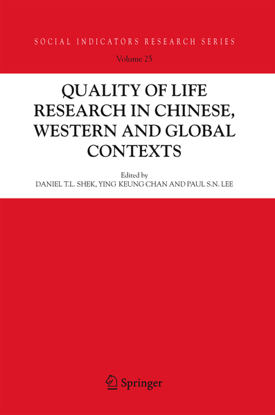 Quality-of-Life Research in Chinese, Western and Global Contexts | Dodax.pl