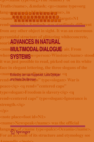 Advances in Natural Multimodal Dialogue Systems | Dodax.pl