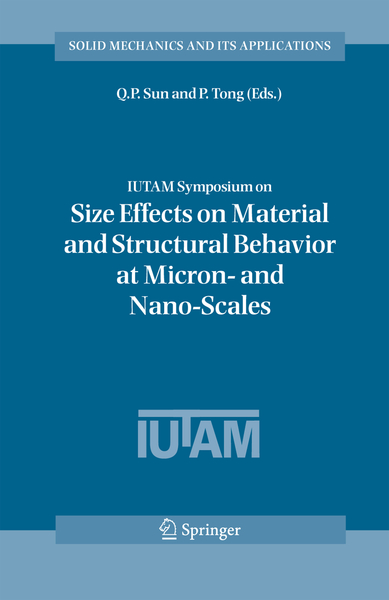 IUTAM Symposium on Size Effects on Material and Structural Behavior at Micron- and Nano-Scales | Dodax.pl