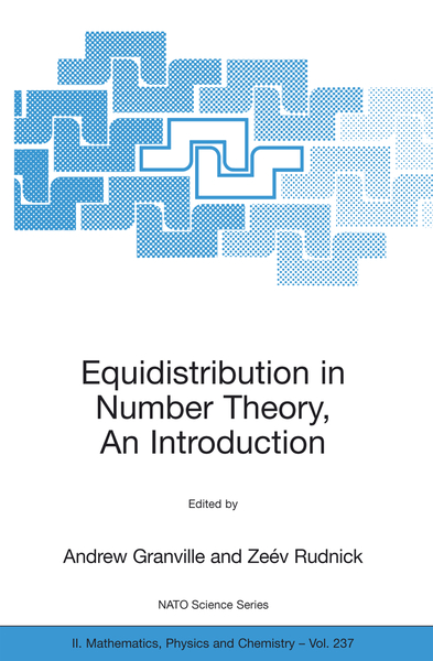 Equidistribution in Number Theory, An Introduction | Dodax.pl
