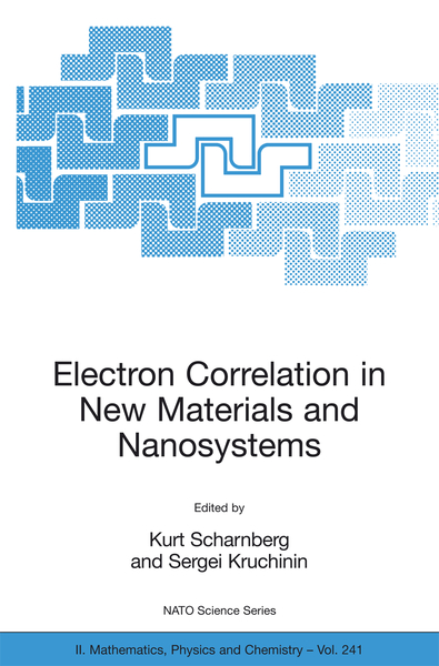 Electron Correlation in New Materials and Nanosystems   Dodax.ch