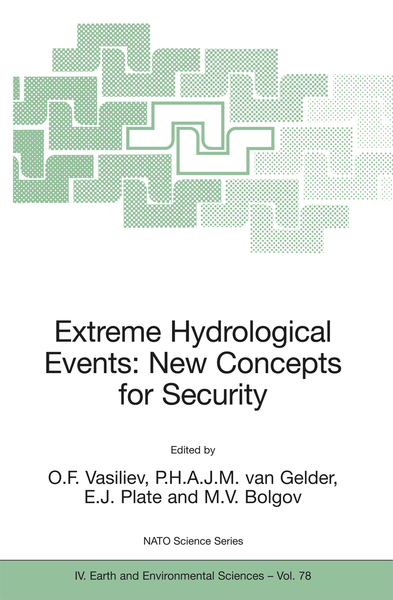 Extreme Hydrological Events: New Concepts for Security   Dodax.ch