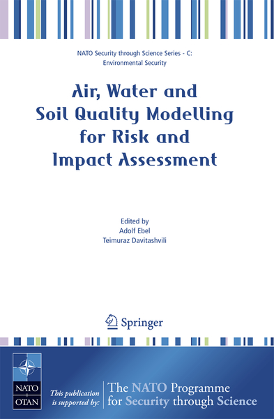 Air, Water and Soil Quality Modelling for Risk and Impact Assessment | Dodax.pl