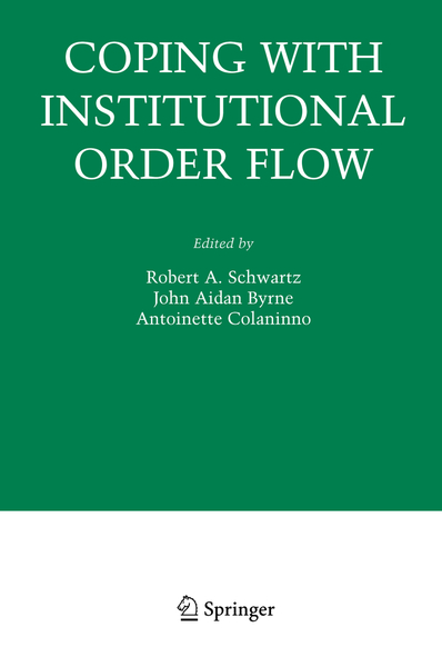 Coping With Institutional Order Flow | Dodax.pl