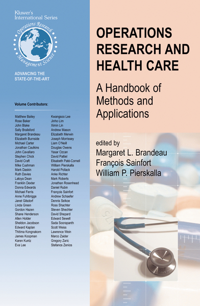 Operations Research and Health Care   Dodax.pl