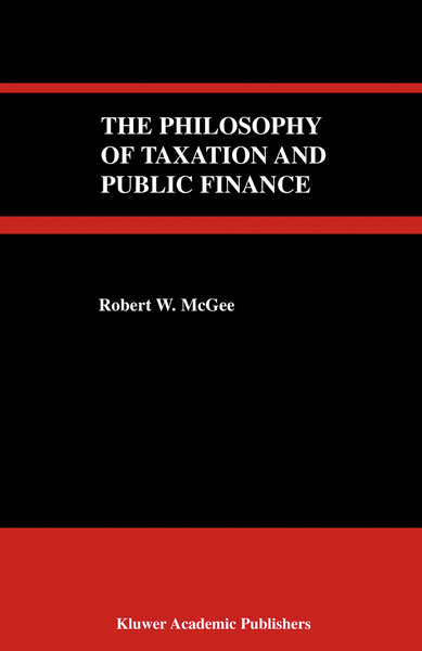 The Philosophy of Taxation and Public Finance | Dodax.pl