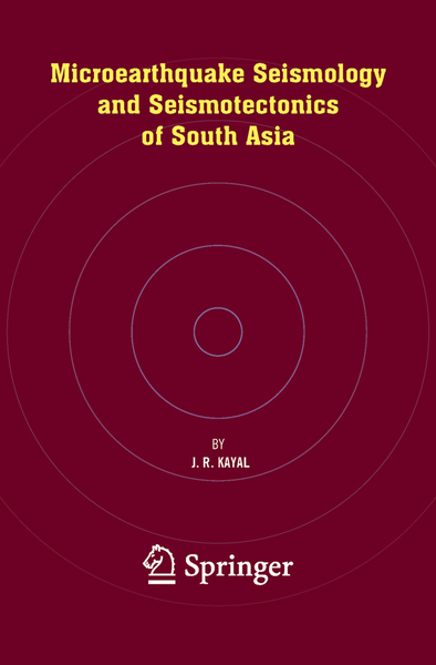 Microearthquake Seismology and Seismotectonics of South Asia | Dodax.ch