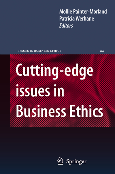 Cutting-edge Issues in Business Ethics | Dodax.pl