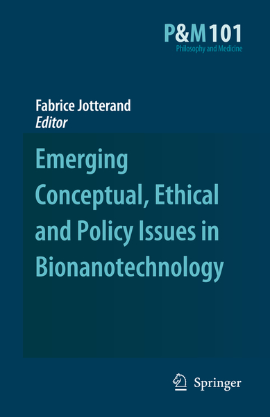 Emerging Conceptual, Ethical and Policy Issues in Bionanotechnology   Dodax.pl
