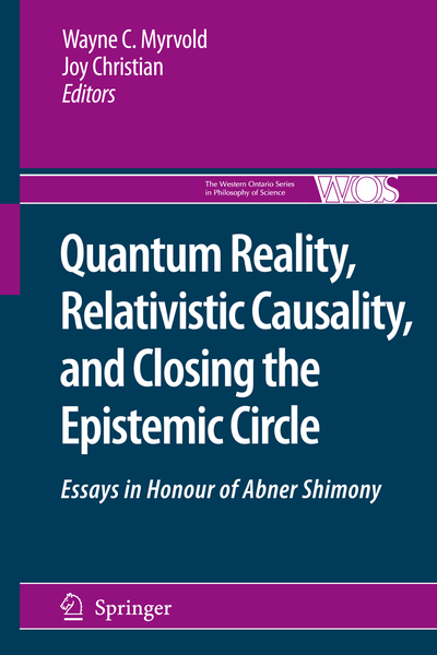 Quantum Reality, Relativistic Causality, and Closing the Epistemic Circle   Dodax.pl