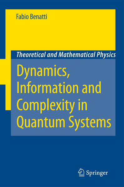 Dynamics, Information and Complexity in Quantum Systems | Dodax.nl