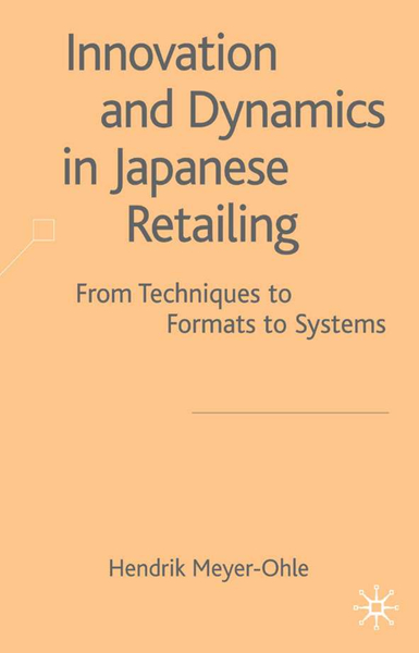 Innovation and Dynamics in Japanese Retailing | Dodax.pl