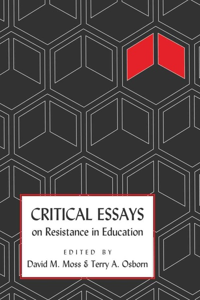 Critical Essays on Resistance in Education | Dodax.at
